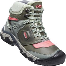 Keen Ridge Flex Mid WP Shoes Women castor grey/dubarry